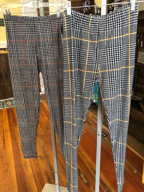 Leggings Plaid One Size Fits All