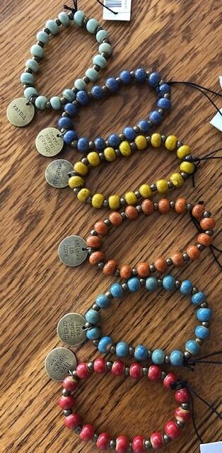 Clay -Bracelet w/Charm