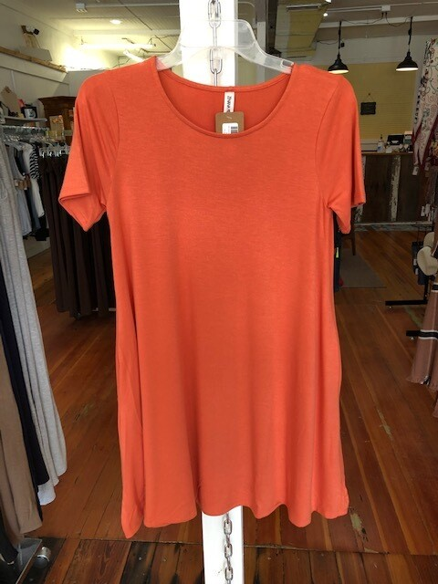 Tunic/Dress Short Sleeve