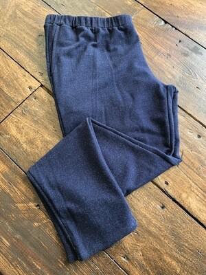 Knit Denim Pant w/Pocket