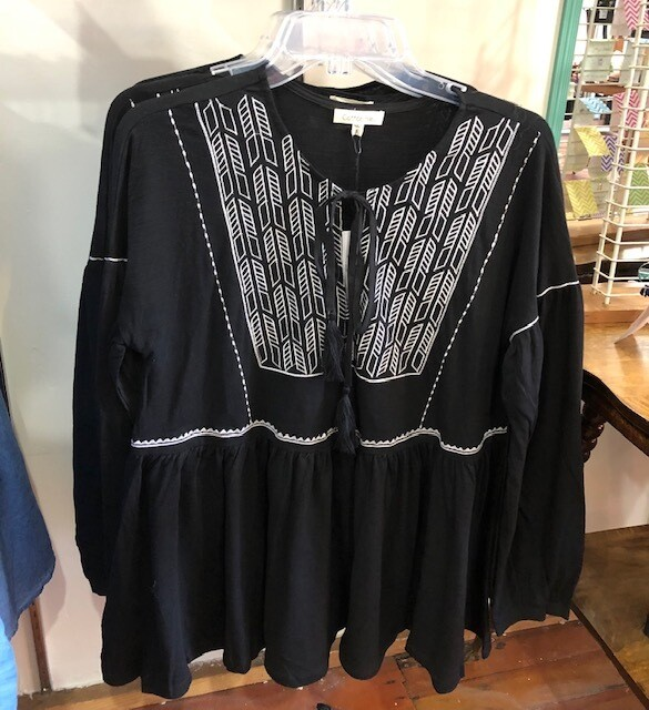Embroidery Cotton Top