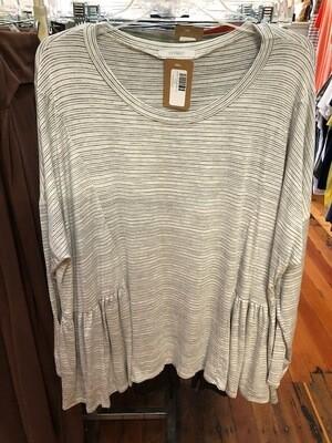 Loose L/S Striped-Plus
