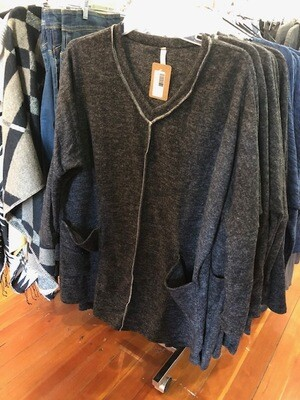 Sweater Tunic with Pockets Plus