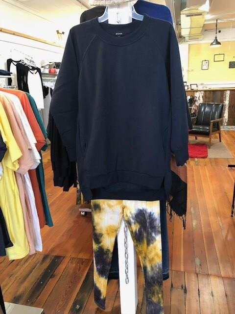 Fleece Sweatshirt with Pockets