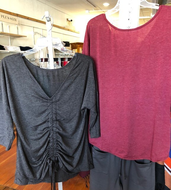 V Neck Reversible Top