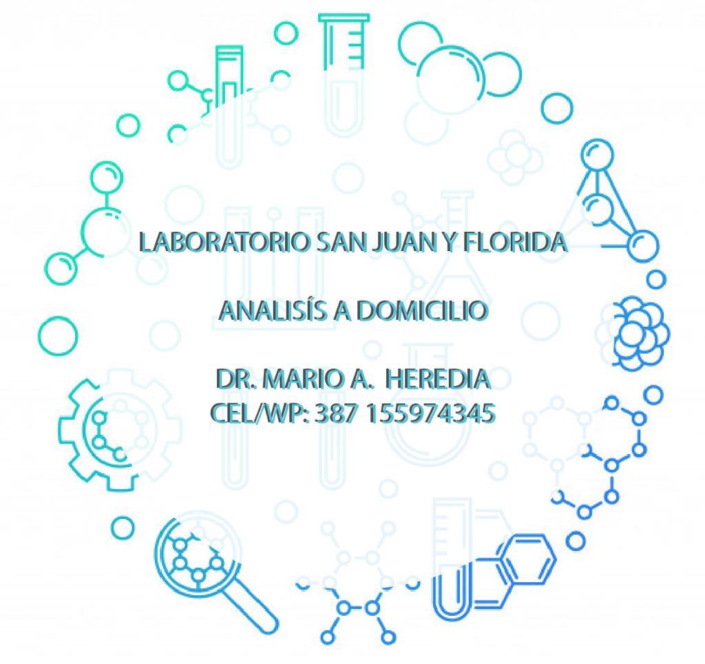 Laboratorio San Juan y Florida