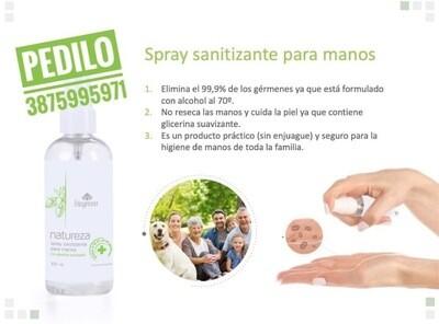 Spray Sanitizante Natureza
