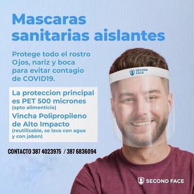 Máscaras sanitarias aislantes