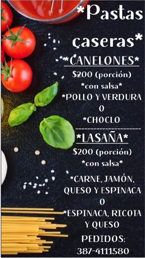 Tarteletas y Pastas Caseras
