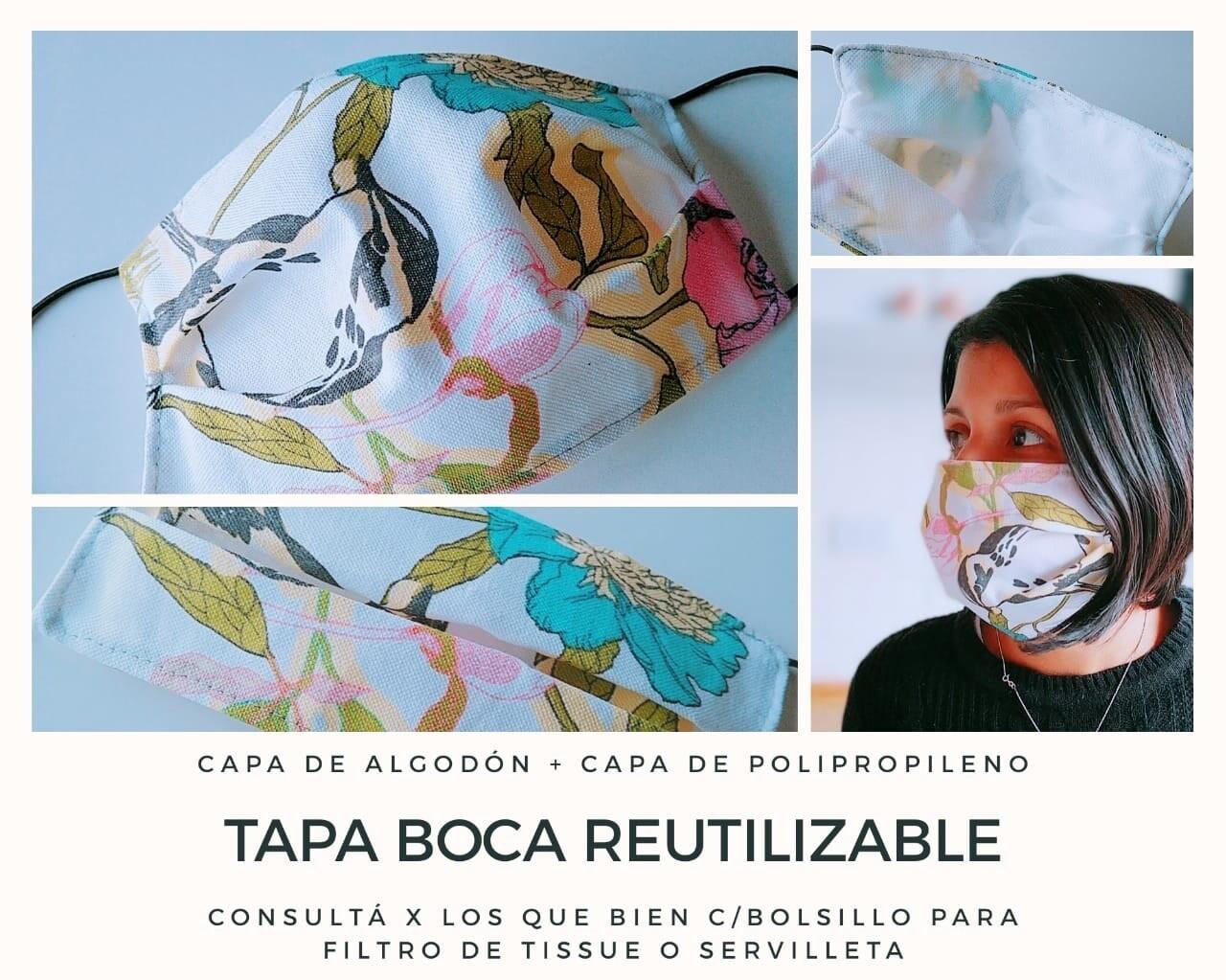 Tapa Boca Reutilizable