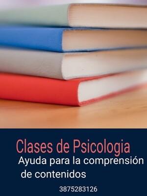 Clases de Psicología