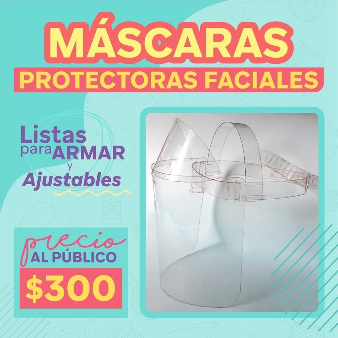Máscaras Protectoras Faciales