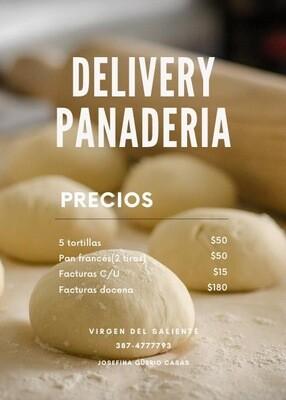 Delivery Panadería