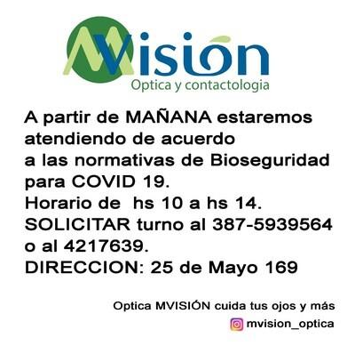 MVisión Óptica y Contactología