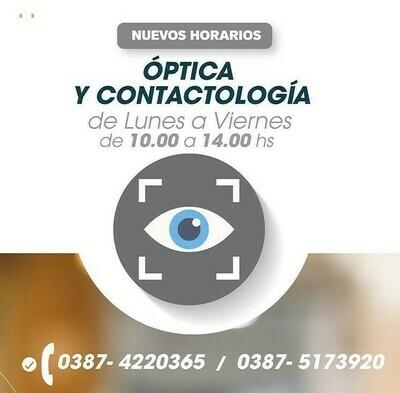 Óptica y Contactología