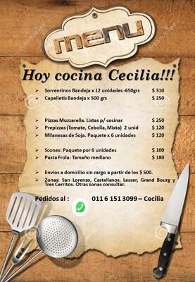 Hoy Cocina Cecilia!!