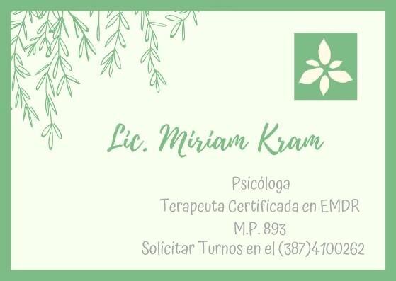 Lic. Miriam Kram