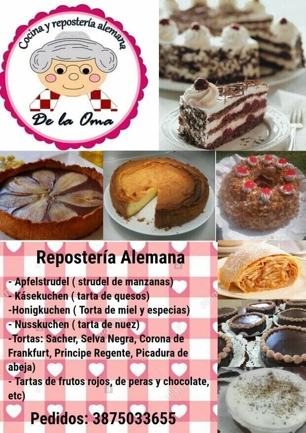 De la Oma-Cocina y Repostería Alemana