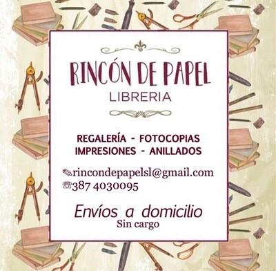 Rincón de Papel Librería