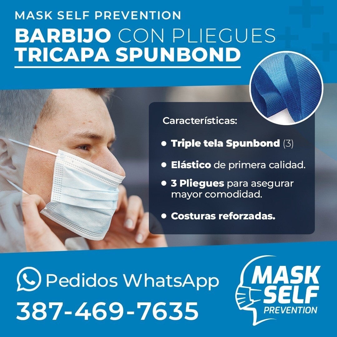 Mask Self Barbijos