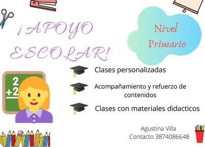 Agustina Villa Apoyo Escolar