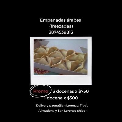Empanadas Árabes freezadas