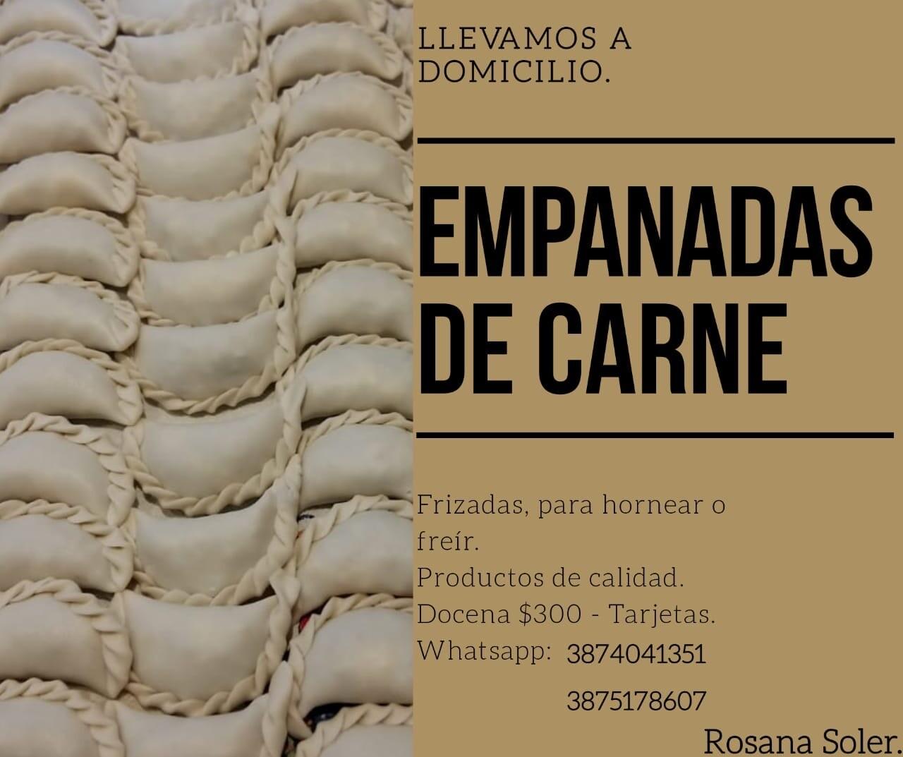 Rosana Soler Empanadas Carne