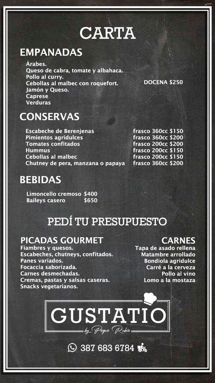 Gustatio Picadas Gourmet