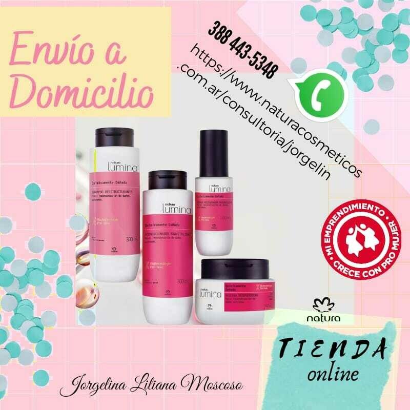 Productos Natura Jorgelina Moscoso