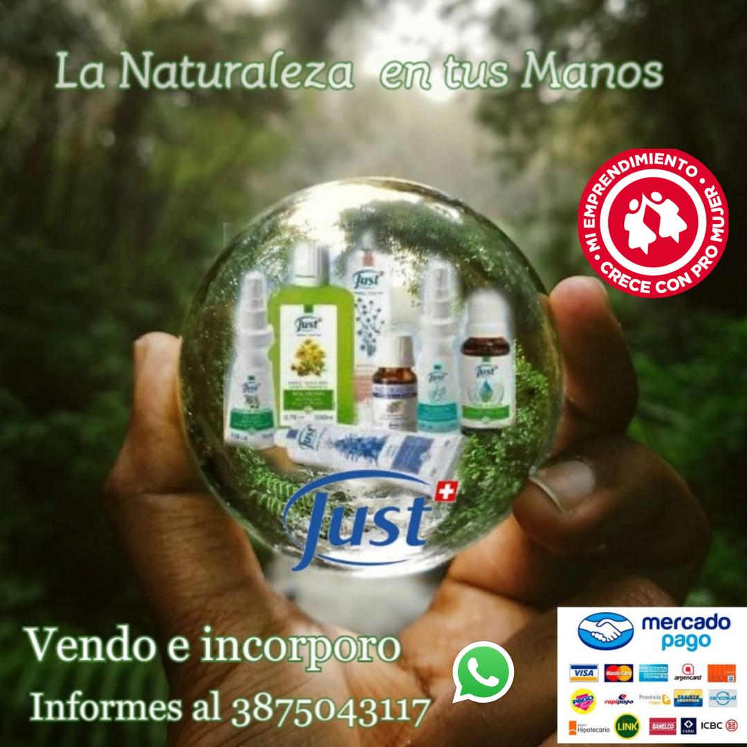 Productos Just Estela Moreno