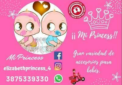 Mi Princess Accesorios Bebes