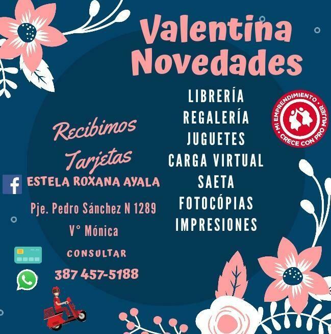 Valentina Novedades