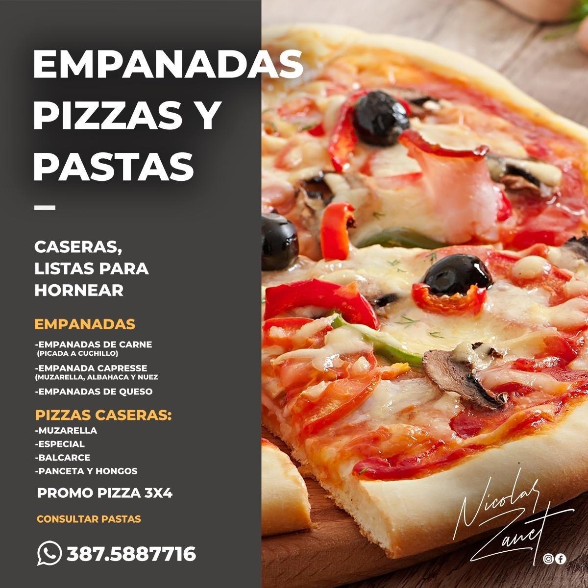 Nicolás Zanet Empanadas Pizzas y Pastas