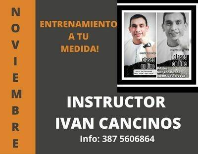 Ivan Cancinos Instructor