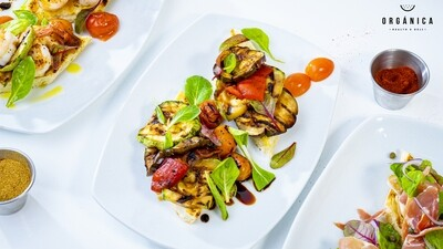 Bruschetta de Vegetales