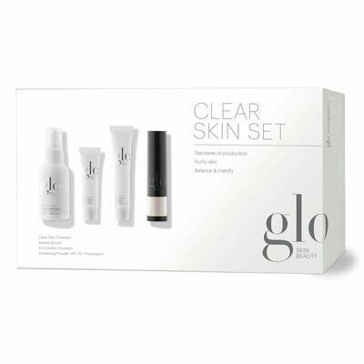 Skin Care Set - Clear