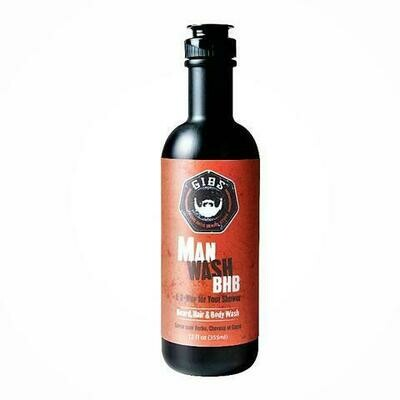 Gibs Man Wash Beard Hair and Body Wash - 12oz