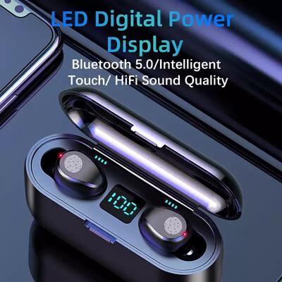 Nouveau F9 sans fil casque Bluetooth 5.0