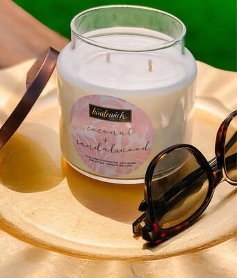 Coconut + Sandalwood 16oz Candle