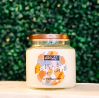 Citrus Mint 16oz Candle