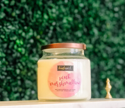 Pink Marshmallow 16oz Candle