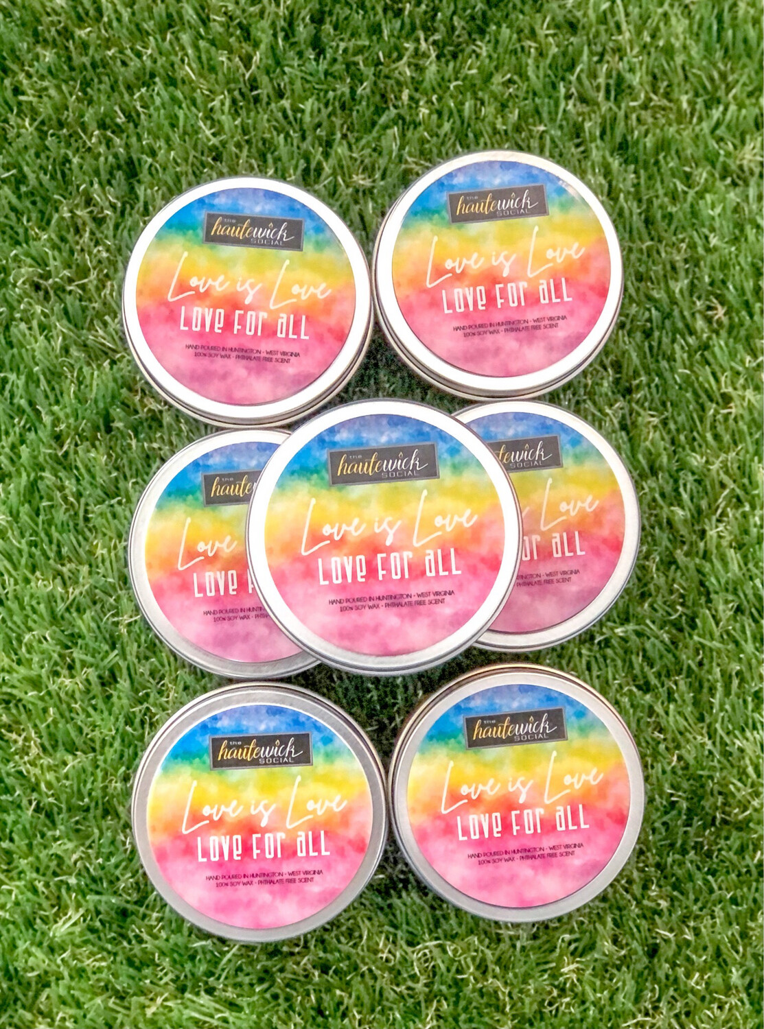 Love Is Love 6oz Candle Tin