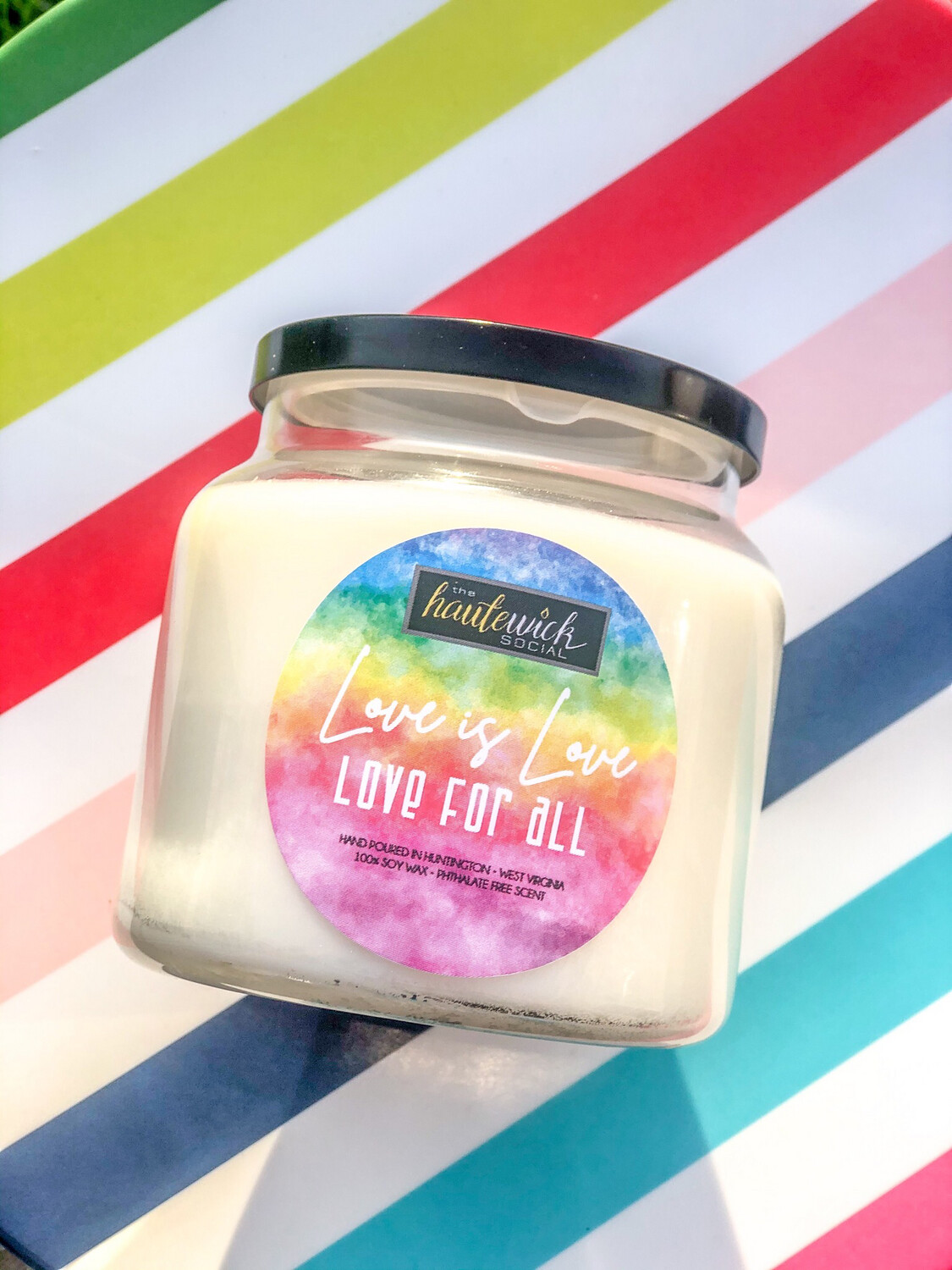 Love Is Love 16oz Pride Candle