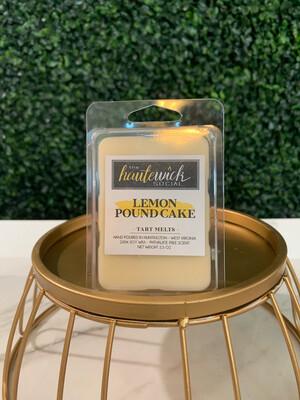 Lemon Pound Cake Tart Melt