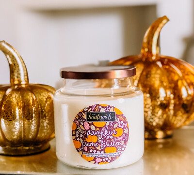Pumpkin Creme Brulee 16oz Candle