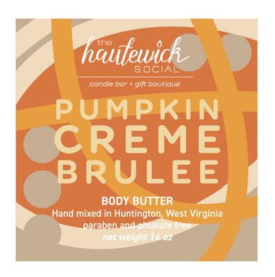 Pumpkin Creme Brulee 16oz Body Butter