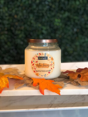 Fallen Leaves 16oz Candle