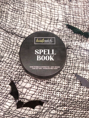 Spell Book Candle Tin