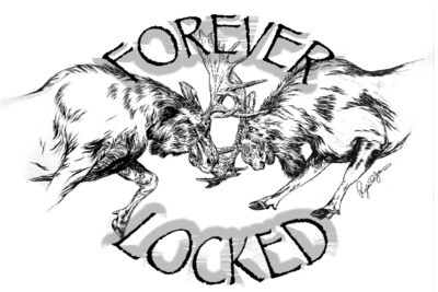 Forever Locked Stickers