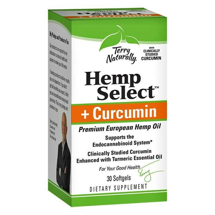 Hemp Select™ + Curcumin Softgels
